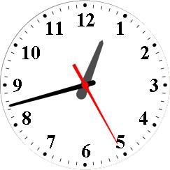 gtk_clock_modern
